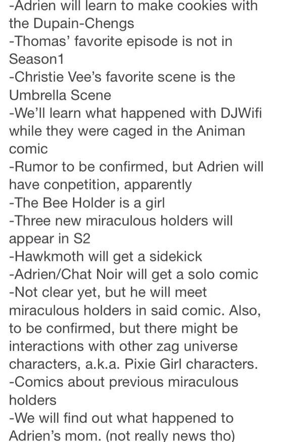 Season 2 confirmations!!! OMG Hawkmoth gets a sidekick! Just like my OC!!