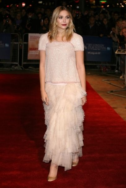 Elizabeth Olsen on the Red Carpet in London