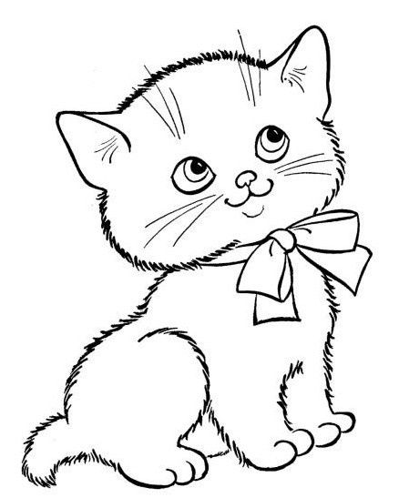 Three Little Kittens Coloring Pages 8 Jpg 449 547 Kitten Drawing Kittens Coloring Animal Coloring Pages