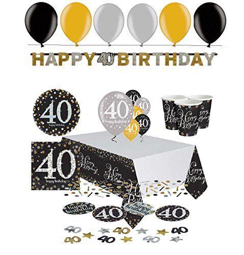Feste Feiern Geburtstagsdeko Zum 18 Geburtstag 12 Teile Luftballons Helium Gold Schwarz Silber Party Deko Set Happy Birthday