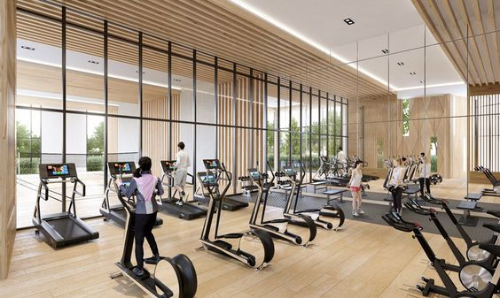 Pin By Su Huilian On Fitness Gym Interior Gym Design Interior Gym Room At Home