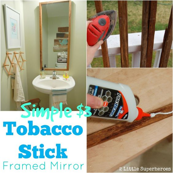 Tobacco Sticks Builder Grade And Mirror On Pinterest