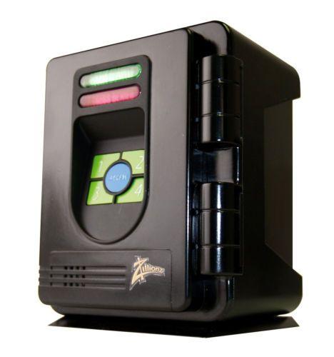 Children Kids Piggy Bank Electronic Safe 4 Digit Secret Code & Alarm System NEW