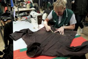 A Continuous Lean is a brilliant menswear blog that has a great feature about their visit to the Barbour factory and an impromptu repair of a 10-year-old Bedale.