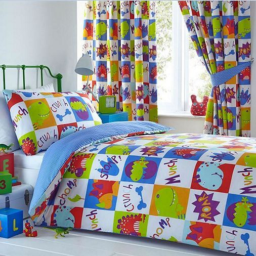 Tesco Direct Young Dinosaurs Single Bedding Reversible Duvet Covers Bed Design Bed Covers