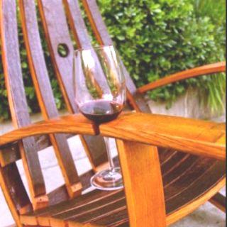 Chair wine holder