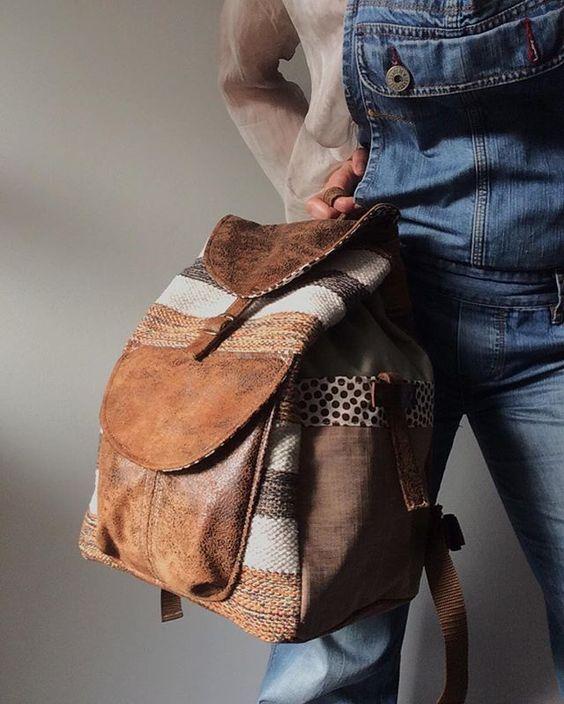 Eu sei que sou suspeita, mas esta colecção está ® •• UNIQUE • • Tapestry BackPack' s New collection already available online.  Please link in my profile  #andreiacostahandmade #tapestry #shopsmall #tictail
