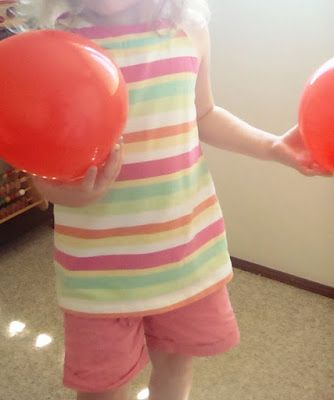 A Little Learning For Two: Memory Matching Balloons