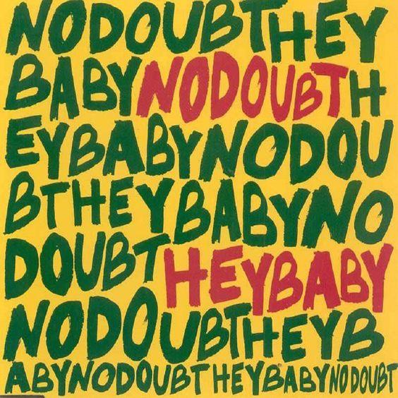 No Doubt, Bounty Killer – Hey Baby (single cover art)