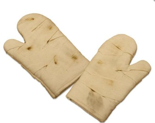 Mummy oven mitts. That is cute.