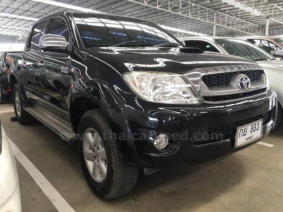 ขายรถกระบะ TOYOTA HILUX VIGO โตโยต้า ไฮลักซ์ วีโก้ รถปี2010 สีดำ