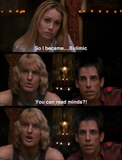 zoolander. you can read minds?: