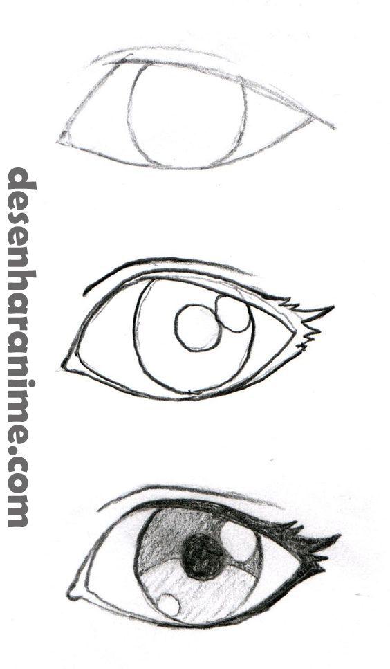 Como Desenhar Anime E Manga Gostaria De Aprender A Desenhar Clique Sobre A Imagem E Saiba Mais Manga Dese Olhos Desenho Desenho De Olho Desenho De Rosto