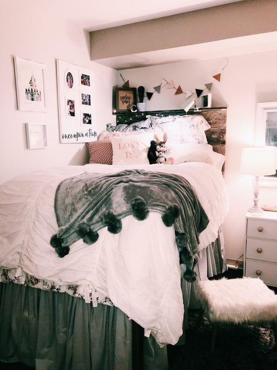 Vsco Aesthetic Bedroom Bedroomdecor Dorm Room Designs Dorm