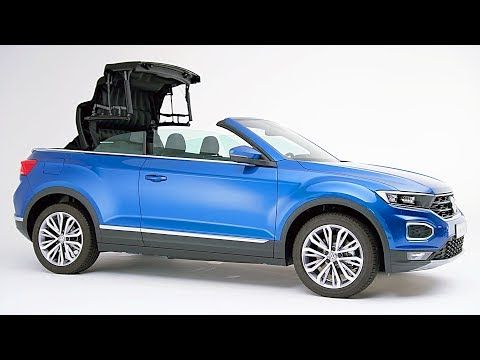 All Cars New Zealand Video Vw T Roc Cabriolet 2020 Open Top Suv V Cabriolets Suv New Cars