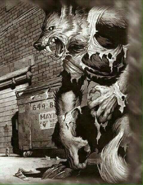 Fantasy Concept Art Werewolf