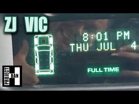 Jeep Zj Vic Install Swapping A Gdm To Vic On A 98 Grand Cherokee Esta Camineta Trajo Como Una Extra Esta Pequena Caja Jeep Zj Jeep Grand Cherokee Zj Jeep