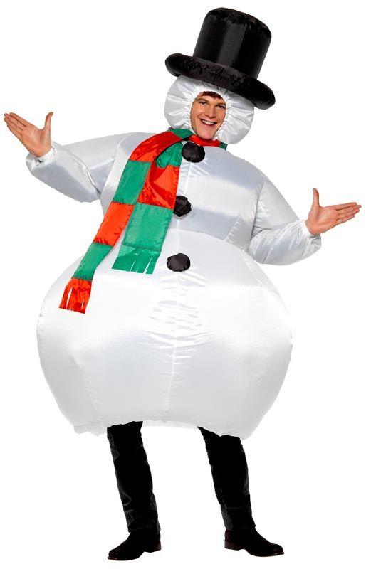 Disfraz navide o para adultos de mu eco de nieve feliz - Disfraces navidenos originales ...