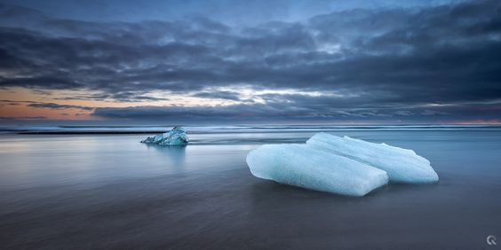 Blue iCeland by Carlos Resende on 500px