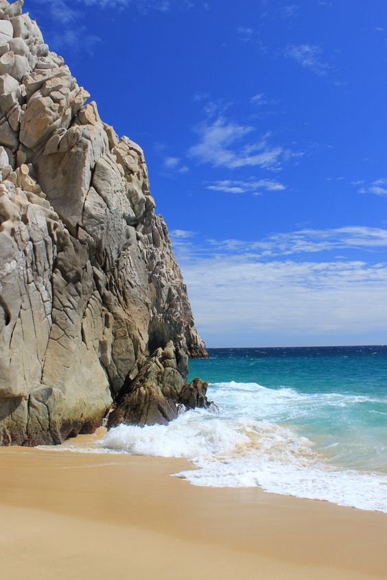 Turquoise ocean, Lovers Beach, Cabo San Lucas