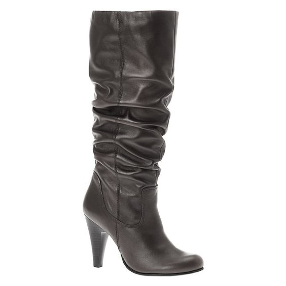 Love a slouchy black boot, just the right size heel to make it through the day