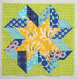 Ribbon Star Block tutorial: