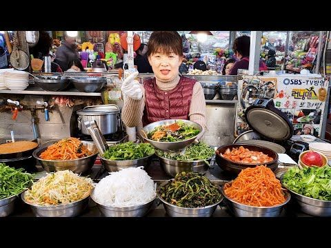 Bibimbap Kimchi Best Korean Food Food Korean Street Food