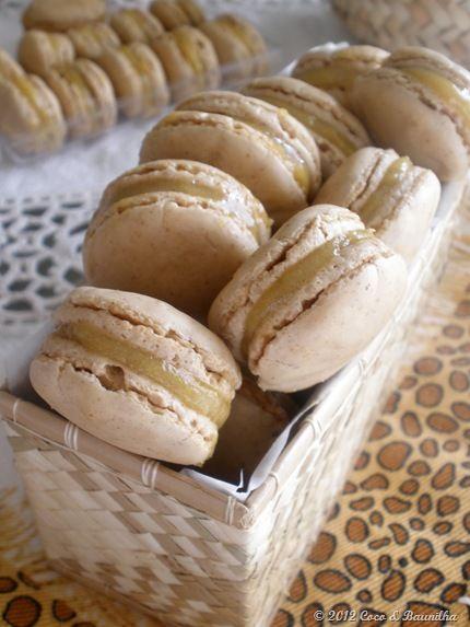 (Portuguese) Macarons de Noz com Ovos Moles | Walnut Macarons with Soft Eggs