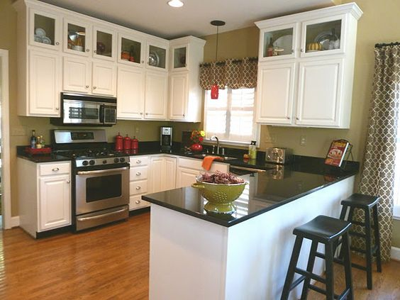 Remodeling Kitchens Order Paint Cupboards New Floor New Counter
