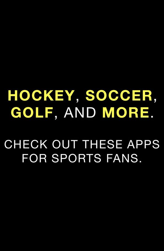 Check out these 10 sports apps that'll let you stay in the loop no matter where you are.
