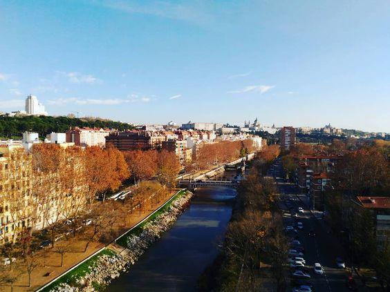Madrid desde el aire!  #vscocam #vsco #madrid #spain #visitspain #igersspain #hallazgosemanal #igers #asusfoto #megustazenfone #architecture #somosinstagramers