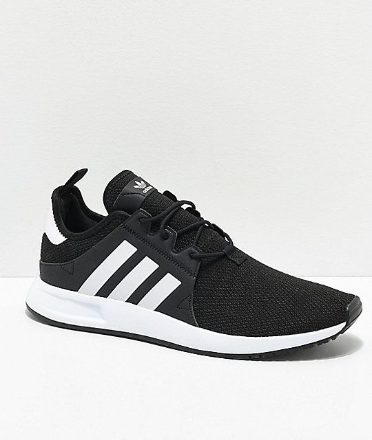adidas Xplorer Black \u0026 White Shoes