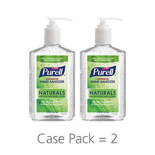 Purell Advanced Hand Sanitizer Soothing Gel With Aloe And Vitamin