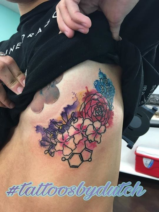 Floral Tattoo By Dutch From Lotus Tattoo Studio 20170823 Floral Tattoo Tattoo Studio Tattoos