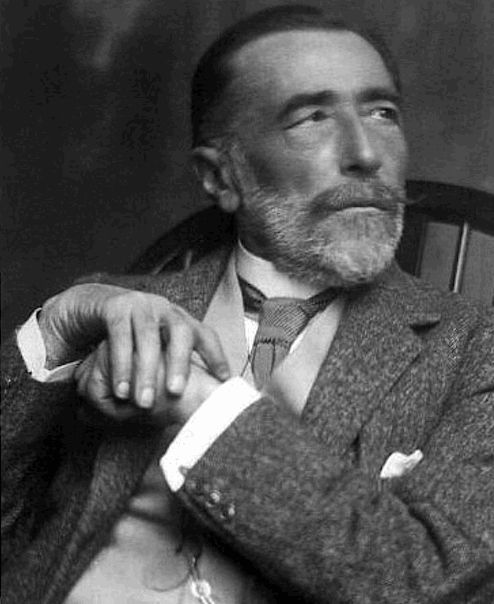 """Of all the inanimate objects, of all men's creations, books are the nearest to us for they contain our very thoughts, our ambitions, our indignations, our illusions, our fidelity to the truth, and our persistent leanings to error. But most of all they resemble us in their precious hold on life.""   — Joseph Conrad"