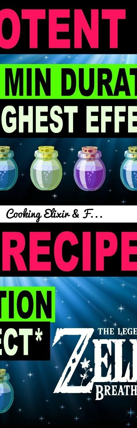 Cooking elixir food recipes high level 30 minute durations tags the legend of zelda breath of the wild elixirs elixers food recipes haste recipe forumfinder Image collections