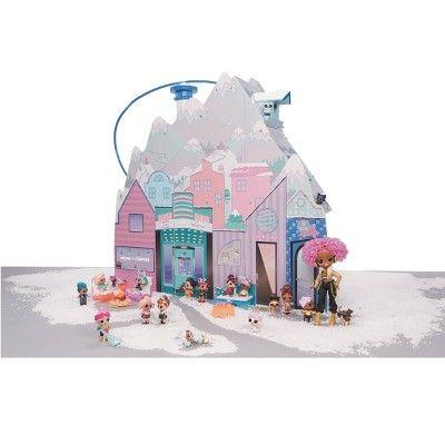 Surprise L.O. LOL Surprise WINTER DISCO CHALET Wood House OMG Doll Furniture 95