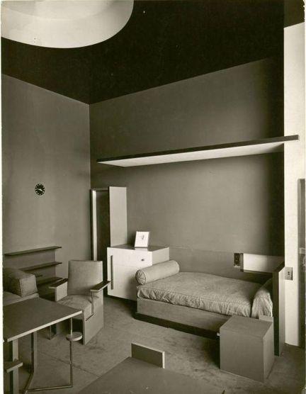 Villa de M. Cavrois, Chambre à coucher, 1931