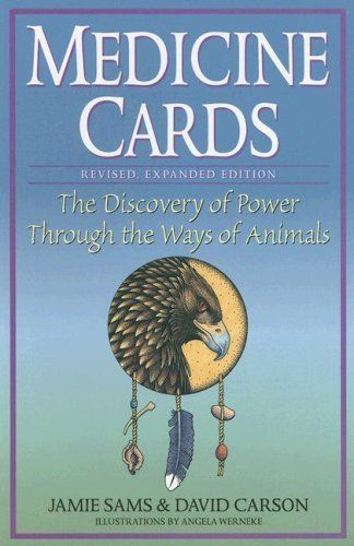 Medicine Cards: The Discovery of Power Through the Ways of Animals by Jamie Sams. $19.77. Publication: September 1, 1997. Edition - Book Author: Jamie Sams. Publisher: U.S. Games Systems; Book edition (September 1, 1997). Save 34% Off!