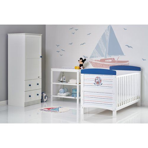 Leo Cot Bed 3 Piece Nursery Furniture Set Nursery Furniture Sets