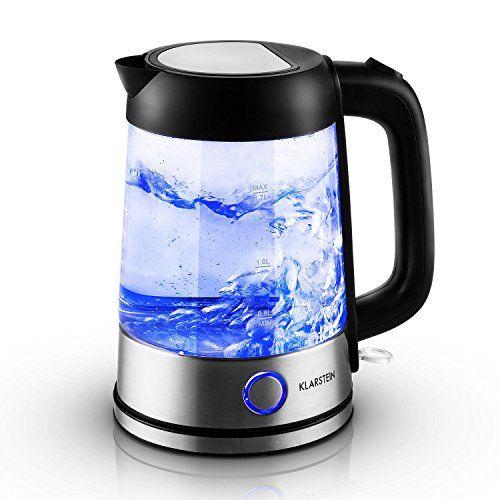 Wasserkocher Wasserkessel klarstein tiefblau wasserkocher wasserkessel 2200 amazon