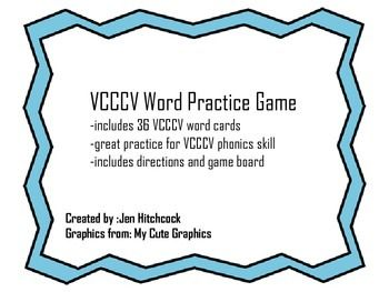 great way to teach VCCCV phonics skill
