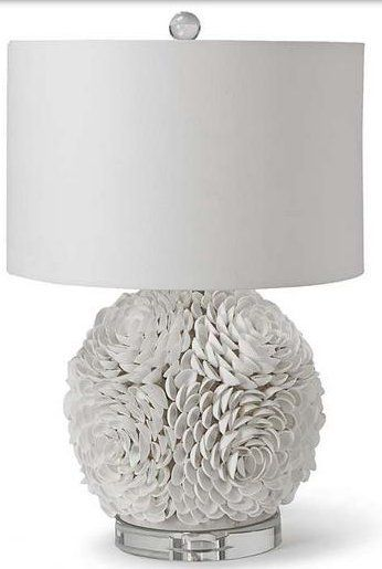 Birgit Anich Staging & Interiors: Galactica Mosaic Seashell Sphere Contemporary Table Lamp - XDAR-0437-55