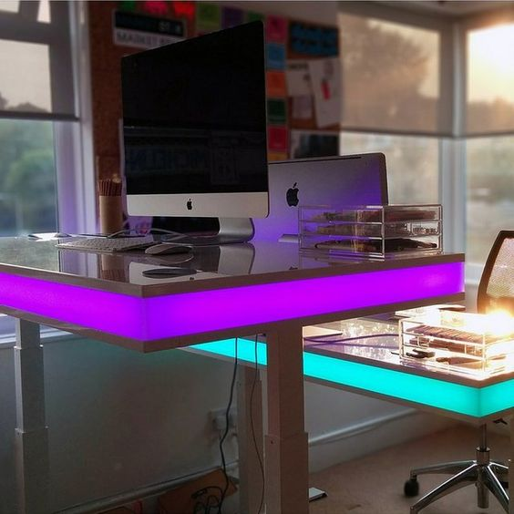 TableAir Interactive Desk | Desks, On Fancy and All In One