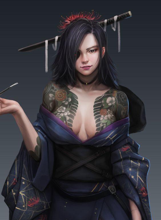 ArtStation - Spider Lily, Alen Rocha