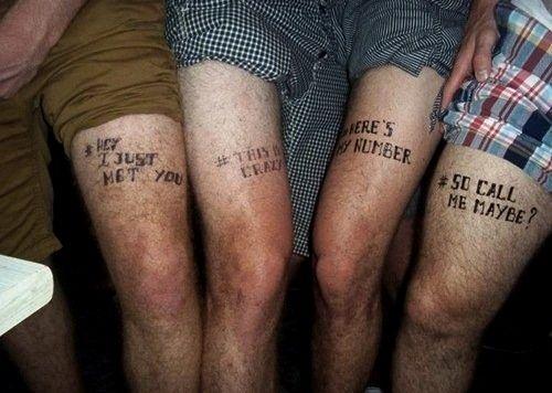 Bad Tattoo Ideas Trick Friend Tattoos Girl Thigh Tattoos Bad