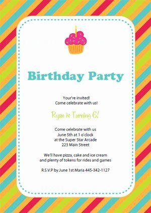11th birthday invitation wording