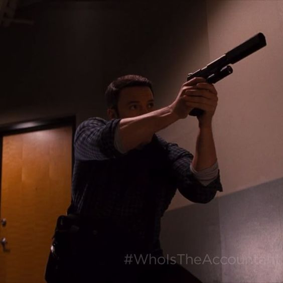 """""""He's a killer."""" """"Only when someone breaks his moral code."""" #TheAccountant #NowPlaying"""