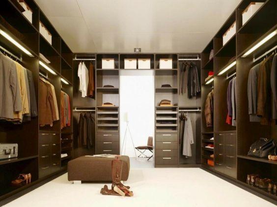 begehbearer kleiderschrank elegant damen herren | schrank, Schlafzimmer entwurf