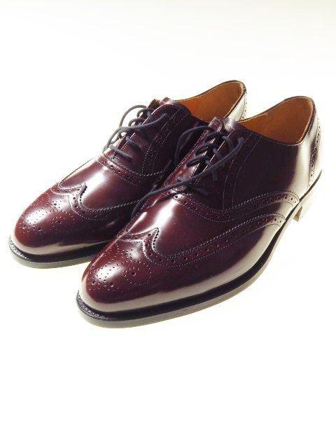 Barker Brogues Mens Shoes Dark Cherry Red Leather Goodyear Welted Uk 9 G Unworn Tweedmans Shoe Dress Shoes Men Vintage Clothing Men Designer Clothes For Men